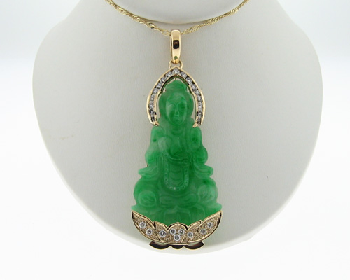 Buddha Jade Necklace