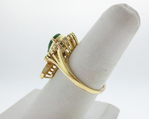 K Vvs Or J Vs Yellow Gold Ring